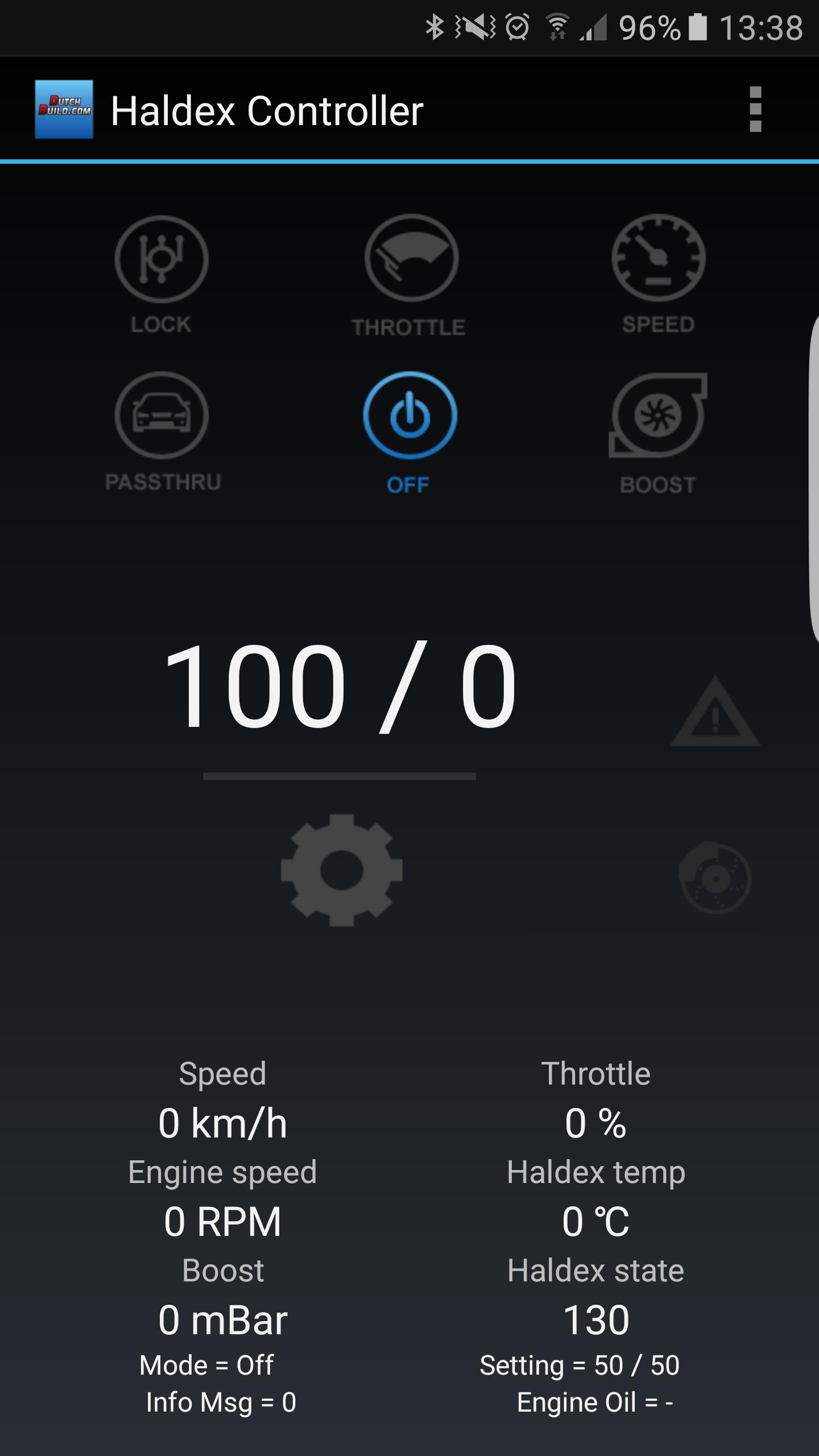 Dutchbuild Haldex controller App