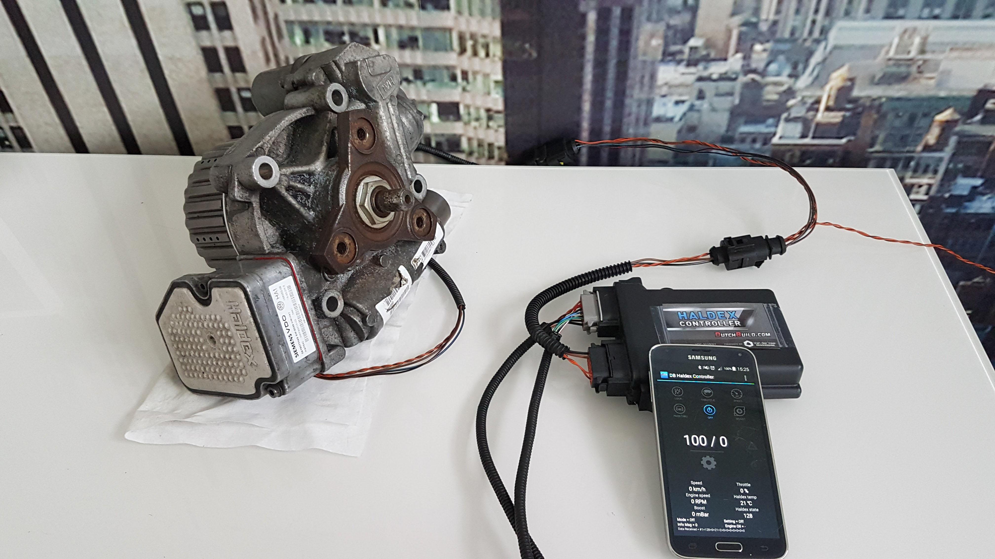 Dutchbuild Haldex controller gen4